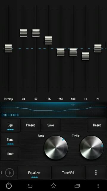 価格 com - 『『Poweramp』イコライザー画面』シャープ AQUOS PHONE