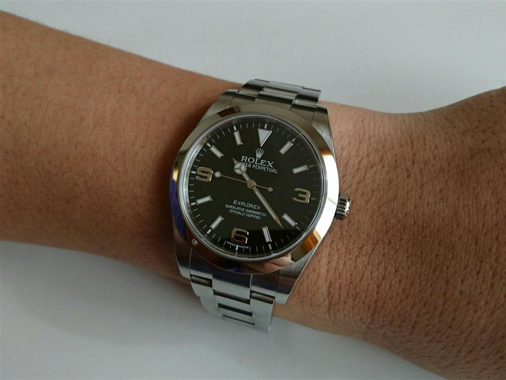 pretty nice c9d00 3e401 価格.com - ロレックス エクスプローラー 214270(ブラック ...