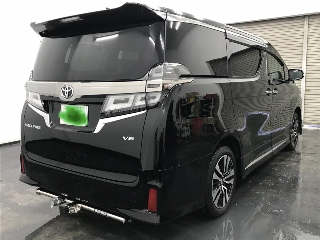 3 5zg納車 202黒モデリスタエアロ トヨタ ヴェルファイア 2015年
