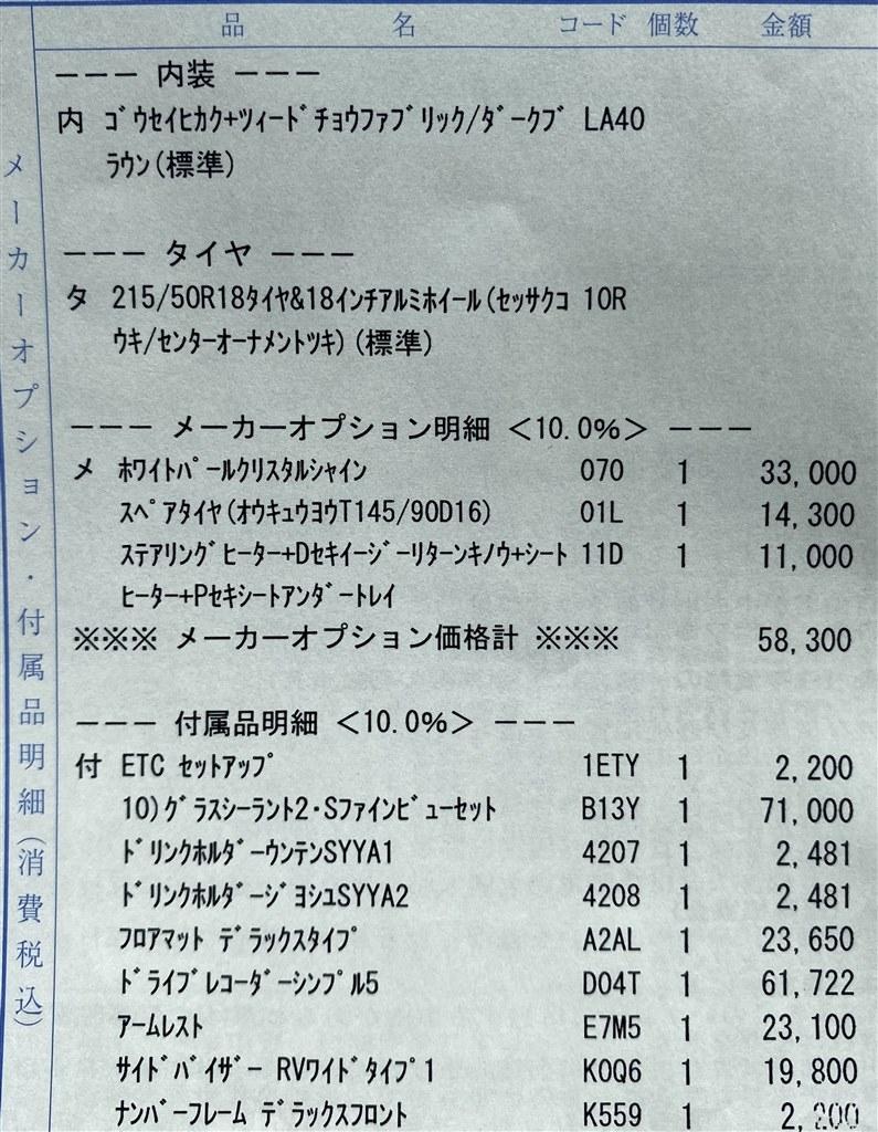 オプション ヤリスクロス 【口コミ評判】トヨタ ヤリスクロスを試乗したらすぐに購入しちゃった